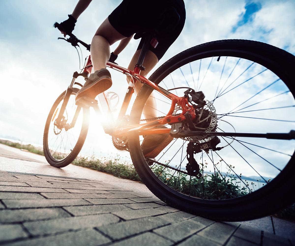 Footbrake Bike